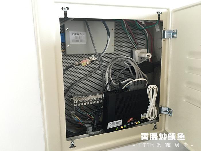 開箱 | 中華電信 FTTH 光纖到府 100M/40M 實測攻頂飆速 (I-040GW)