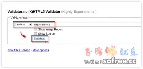 檢查網站是否通過HTML5驗證?