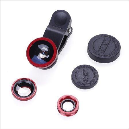 三合一手機鏡頭 自拍神器 (廣角、微距、魚眼)