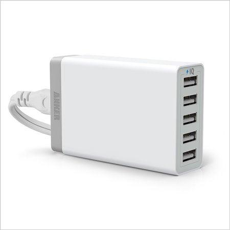 Anker 40W 五孔USB充電器