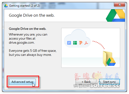 Google Drive 免費5GB雲端硬碟,輕鬆進行檔案同步