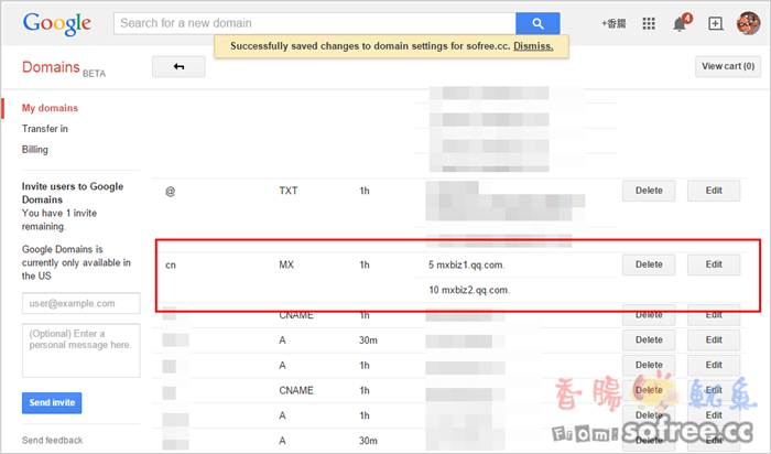 [教學]2GB 免費騰訊企業信箱,可綁定專屬網址(免費50個信箱)