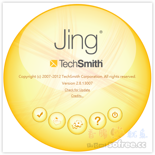 Jing 免費螢幕截圖錄影軟體 (免費2GB的swf空間)