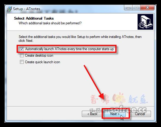 ATnotes 免費輕巧的桌面便利貼