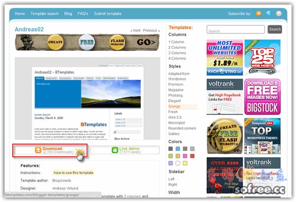 [Blogger]如何備份、安裝Blogger的模板?
