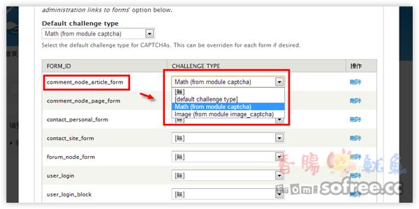 [教學]安裝Drupal驗證碼模組「CAPTCHA」