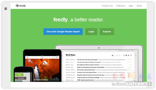 Feedly Cloud 功能完善的RSS網頁、行動閱讀器