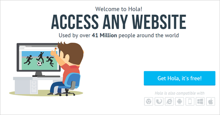 VPN Proxy 破解 YouTube、大陸視頻地區瀏覽限制(Hola Better Internet)