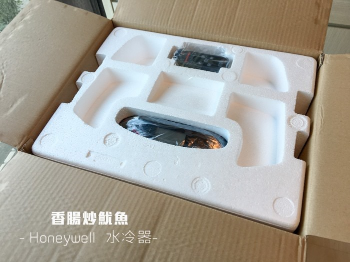 [開箱]Honeywell CL30XC 節能環保水冷器,夏日降溫好夥伴