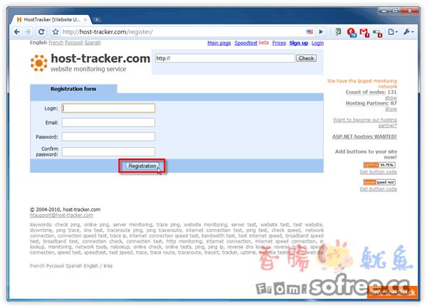 HostTracker 免費主機監控服務