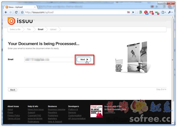 Issuu 輕鬆製作自己的Flash電子書