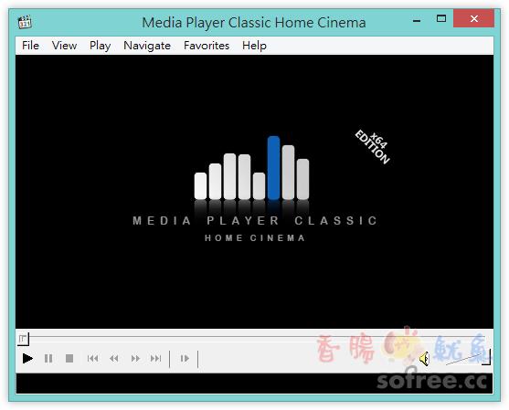 MPC HC  極致輕巧影音播放器 (提供32/64位元免安裝軟體)