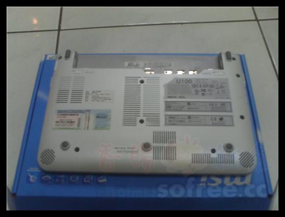 [開箱文]我的MSI U100 小筆電