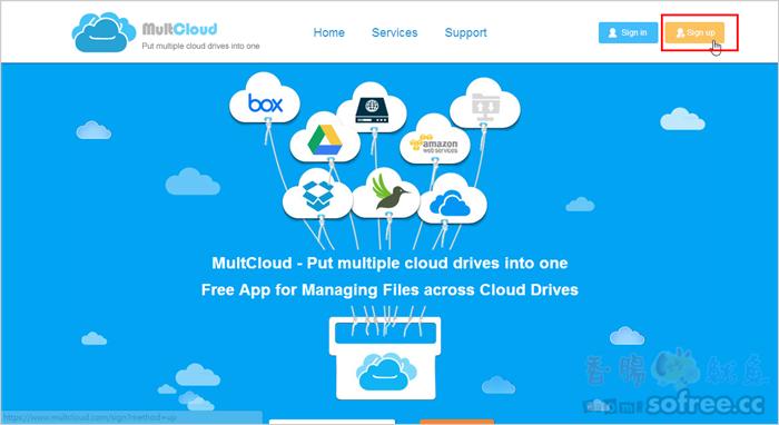 MultCloud 雲端硬碟大串聯,17個雲端空間輕鬆管!