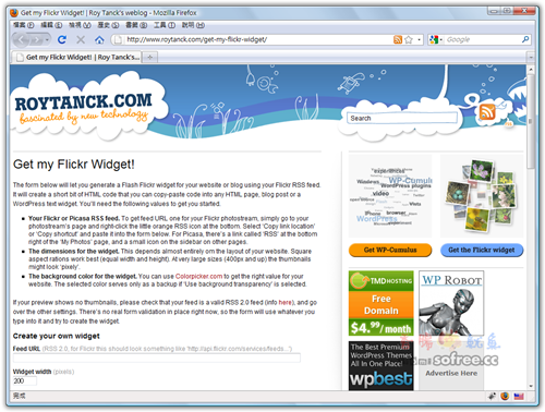 Flickr_Widget