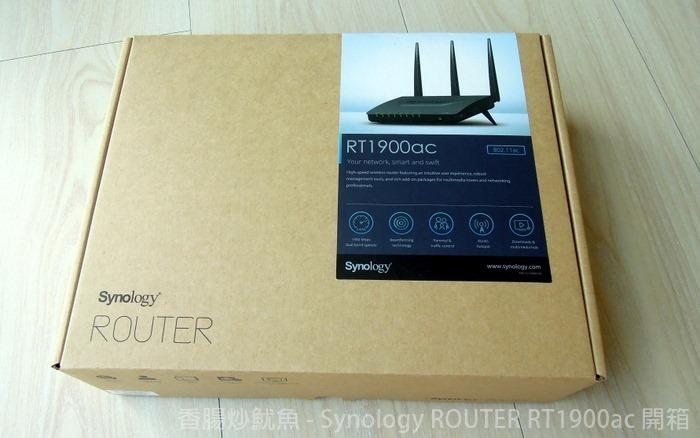 [開箱]Synology RT1900ac 路由器 雙頻極速無線分享器 (支援NAS基本功能)