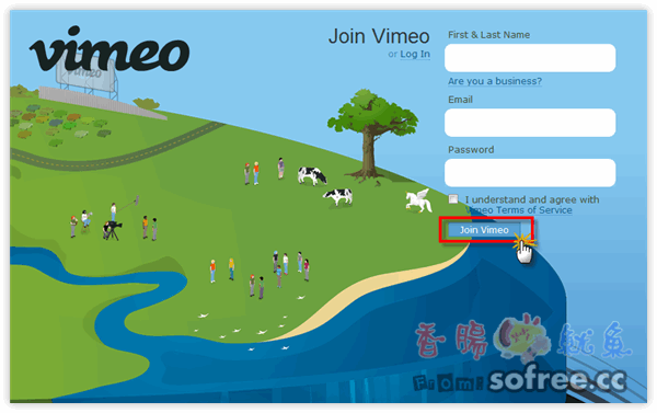 Vimeo 免費高畫質影音分享上傳網站