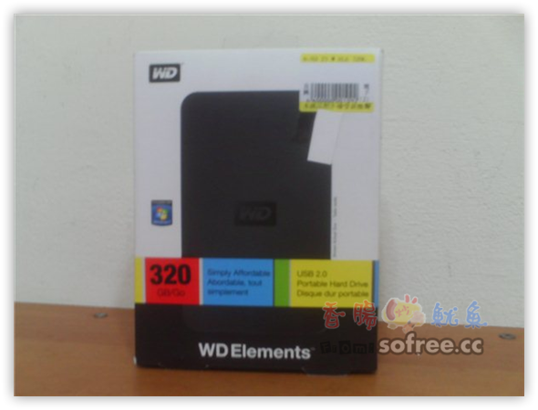 我的WD Elements 320GB外接式硬碟