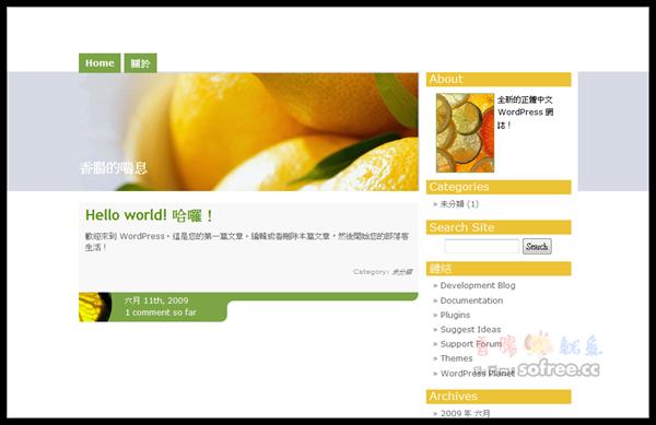 WordPress 2.8 新功能介紹