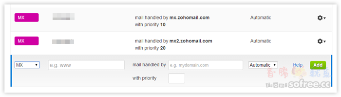 ZOHO 取代Google Apps 免費自訂網域信箱(郵件代管服務)