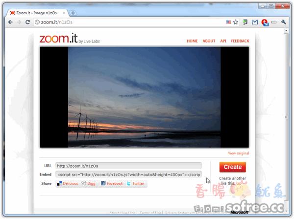 Zoom.it 不一樣的照片展示體驗,可以自由放大縮小!