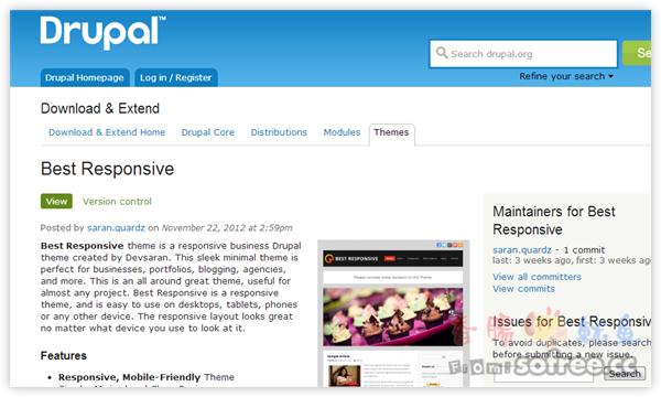 [教學]如何在Drupal安裝佈景主題?