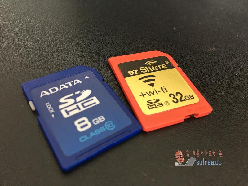 老舊相機大翻身!ez Share易享派Wi-Fi SD記憶卡32GB,手機APP抓照片超好用