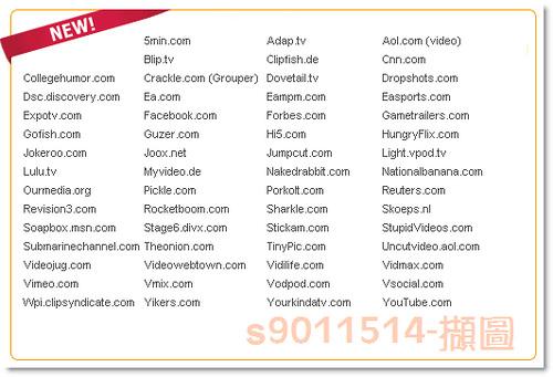 加快讀取速度的網站列表