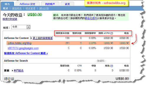 利用頻道來管理Google AdSense收入來源-10