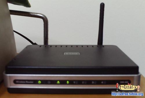 無線網路基地台(D-Link)