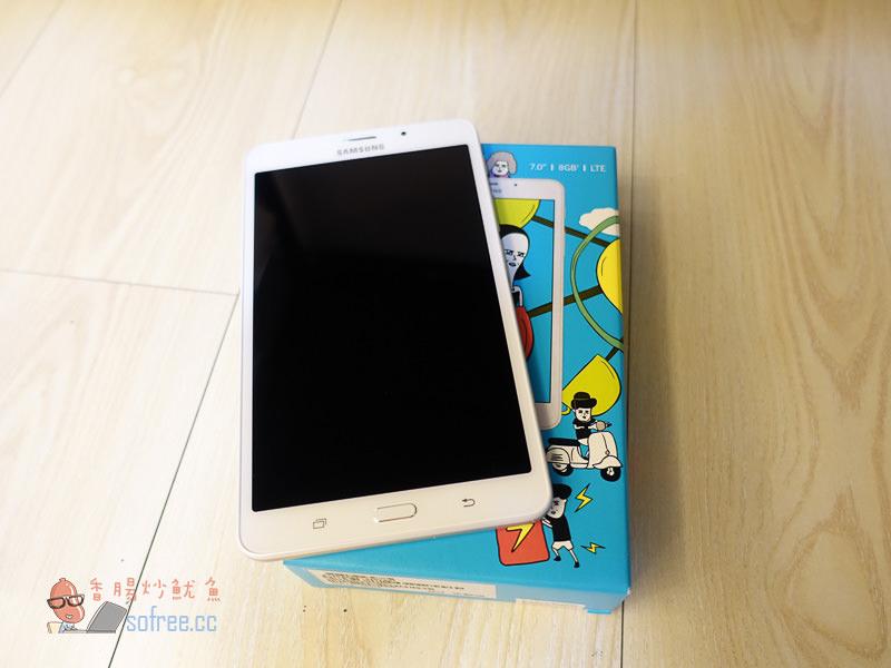[孝親機推薦]Samsung Galaxy Tab J 7.0 開箱:4G通話、雙卡雙待平板手機(五千有找)