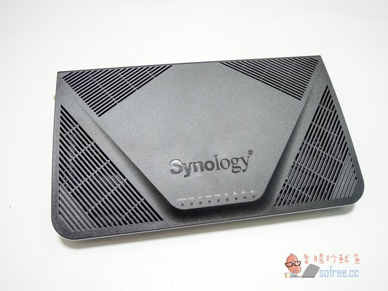 [開箱]Synology RT2600ac 雙頻Wi-Fi無線網路分享器/高效能4天線/支援SSL VPN